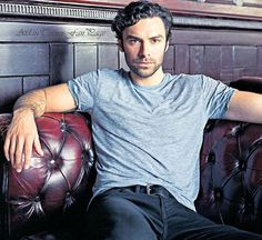 "from Aidan Turner Fan Page -  ""I bought this via the digital version of The Daily Telegraph Review magazine 28th November issue. This is a much larger and fuller version than the one that appeared on the online article where he's pictured from the chest up."""