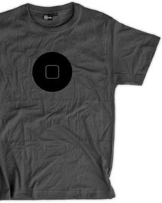 Camiseta Botón iPhone/iPad