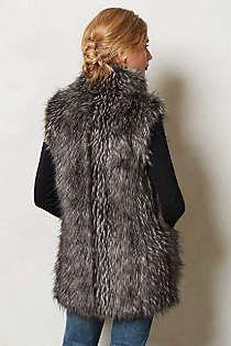 Anthropologie - Vegan Fur Vest