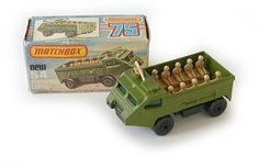 Personnel Carrier - 1976 - series no. 60s Toys, Retro Toys, Vintage Toys, Childhood Toys, Childhood Memories, Old School Toys, Vintage Hot Wheels, Matchbox Cars, Hot Wheels Cars