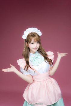 Enjoy servitude #sissy #sissyboy #sissymaid #uniform #frenchmaid #pinkmaid #apron
