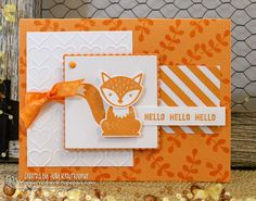 Foxy Friends by catrules - Cards and Paper Crafts at Splitcoaststampers