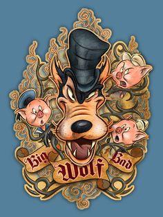 The Big Bad Wolf!