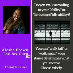 Do you walk according to Faith or Limitations?