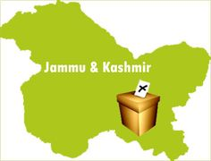 Jammu Kashmir Lok Sabha 2014 Election Consuency Map