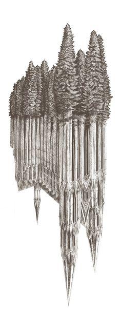 Gothic Revival on white Art Print by Evan Wakelin | Society6