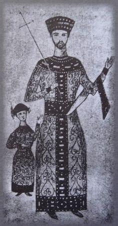 Georgian king Giorgi III and his daughter Tamari