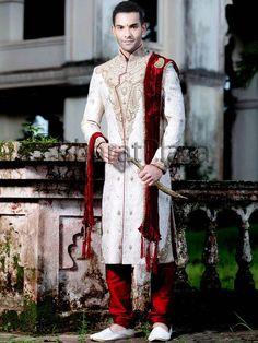 Indian Wedding Bridegroom Sherwani
