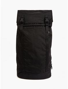 Men's Black Cordura Nylon Backpack
