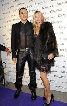 Kate Moss Fur Coat - Kate Moss opted for a glamorous look for her night out in London, when she wore this classic fur coat.
