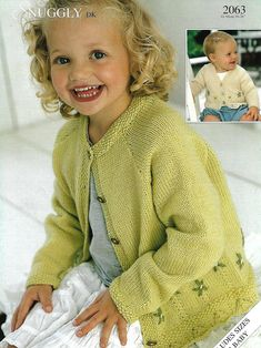 """girls cardigan knitting pattern pdf childrens jacket embroidered flowers 16-26"""" DK light worsted 8ply pdf instant download by Minihobo on Etsy Sweater Knitting Patterns, Knit Patterns, Knitting Needle Conversion Chart, Needles Sizes, Embroidered Flowers, Star Girl, Cotton Cardigan, Boy Doll, Pdf"""