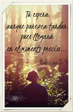 HABACUC 2:3 #DiosTeAmaayPeleaporsusHijos...