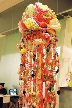 tanabata hanging garland
