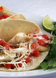 FAST Fish Tacos #recipe