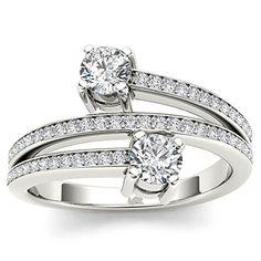 14K Mens 14k White Gold Fn Round Cut Vs Pave Sim Diamond Pinky Band Ring 4.05 Ct