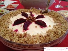 Σαλάτα με παντζάρι Christmas Eve, Salad Recipes, Oatmeal, Salads, Recipies, Food And Drink, Pudding, Cooking, Breakfast