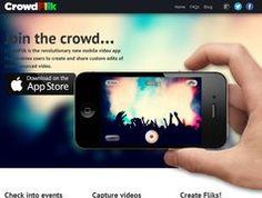 Crowdflik. La vidéo mobile en mode collaboratif.