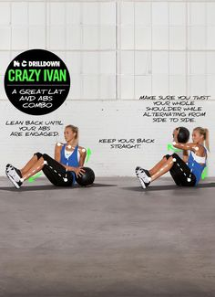 Fire up your core with Crazy Ivans. #training #drills #nike