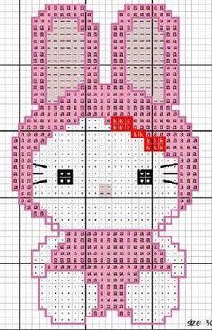 Hello Kitty bunny https://www.etsy.com/shop/InstantCrossStitch