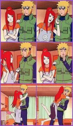 Minato e Kushina Anime Naruto, Naruto Comic, Naruto Shippuden Sasuke, Naruto Kakashi, Minato Y Kushina, Sasuke Sakura, Naruto Cute, Sarada Uchiha, Hinata