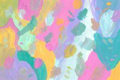 Untitled (July 2015) A4 Acrylic on paper -Cecilie Karoline