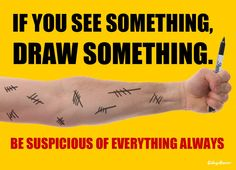 Doctor Who PSAs - If You See Something, Draw Something!