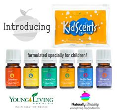 KidScents Collection - Naturally Healthy | YLEO Independent Distributor: Melinda Denton #1822614 | www.youngliving.org/jmdenton