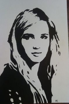 My #artwork of #Emmaroberts #sketch #drawing #portrait #painting #artist #TV #movies #ScreamQueens on my #wedsite