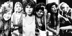 The forever 27 Club Les plus grands