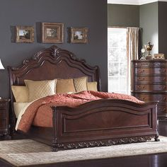Astoria Grand Chalus Panel Bed Size: Queen
