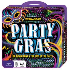 Game inventor Greg Zima first showed us Party Gras at ASTRA last year. We have found so many uses for this game and very much looking forward to using it in our Spring Break and Summer Camps this year!
