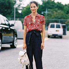 How To Style Paper Bag Trousers Maria Duenas Jacobs