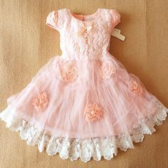 727dc329b Anlencool Infantil Meninas Free Shipping Brand Girls Dress Clothing New  Summer Short-sleeved Female Roses Baby Princess