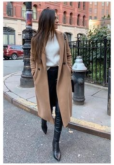 Winter Outfits For Teen Girls, Winter Coat Outfits, Winter Outfits For Work, Winter Outfits Women, Winter Coats Women, Casual Fall Outfits, Winter Fashion Outfits, Look Fashion, Fall Coats