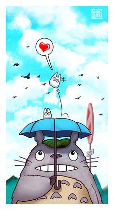 Totoro by Wenart.deviantart.com on @deviantART