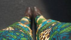 African Print Trousers