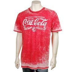 Coca-Cola Men's Burn Out 5 Cent T-Shirt XL | Coca-Cola