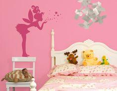 #Wandtattoo No.EK138 #Elfe #fee #baby #babygirl #babyboy #Kleinkind #Dekoideen #deko #kindgerecht #Wandgestaltung #Kinderzeimmer #Babyzimmer