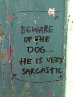 It is about a sarcastic dog, does that describe it enough for you, Pinterest?