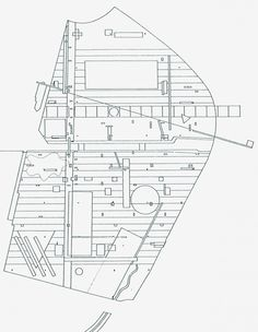 Plan for Parc De La Villette in Paris by the Office of Metropolitan Architecture