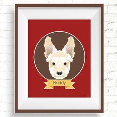 Custom Dog Portraits - Hand Drawn Illustrations. Perfect as a gift, or, for yourself! #custompetportrait #customdogportrait #dogportraits #digitalportrait #personalizedpetportrait #dogillustration #petsympathygift #dogloversgift #dogwallart #customportraits #handmadepetportrait