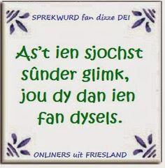 Spreuktegels Frysk (2) » Fan van Friesland