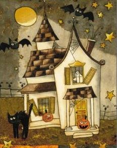 Spooky Halloween Holiday Banner House Flag, Size x Casa Halloween, Halloween Banner, Halloween Haunted Houses, Spooky Halloween, Happy Halloween, Halloween Illustration, Halloween Drawings, Halloween Prints, Halloween Pictures