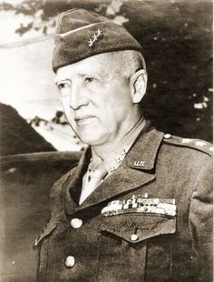 General George S. Patton,..the cowboy general. Patton was such a strategic genius that Hitler considered him to be the most dangerous man the Allied Army had access to.