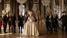 Diane Kruger as Marie Antoinette in the film, Farewell My Queen. Diane Kruger, Period Costumes, Movie Costumes, Cinema Movies, Movie Tv, French Film Festival, Marie Antoinette Movie, Lea Seydoux, French Films