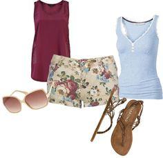 Cute outfit, created by chelsi-a on Polyvore