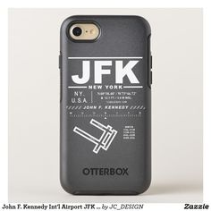 John F. Kennedy Int'l Airport (JFK) iPhone Case: Design features air navigation information for John F. Kennedy International Airport. Great gift for pilots, aviation enthusiasts and world travelers. #nyc #ny #newyork #newyorkcity #jfk #johnfkennedy #airport #airports #airplane #airplanes #airportcode #airportcodes #kjfk #johnfkennedyairport #manhattan #aircraft #aircrafts #nycgo #nylovers #flyjfk #johnfkennedyinternationalairport #pilot #travel #jfkairport #aviation