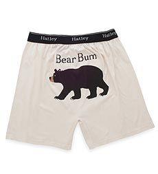 Men's Bear Bum Cotton Jersey Boxers