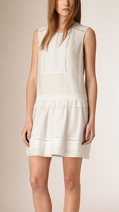 Lovely white dress Burberry