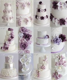 Sugar Ruffles Highlights 2016 Here are just a few of my favourite wedding cakes from 2016. I enjoyed working with lots of lovely coup...